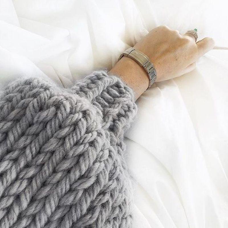 lowest price b959a a8073 Maglioni per l'inverno oversize in lana grossa: ecco dove ...